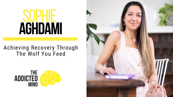 145 Achieving Recovery Through The Wolf You Feed with Sophie Aghdami
